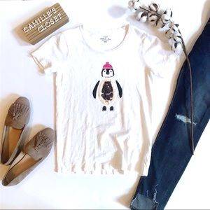 J. Crew Factory Penguin Collector T-Shirt